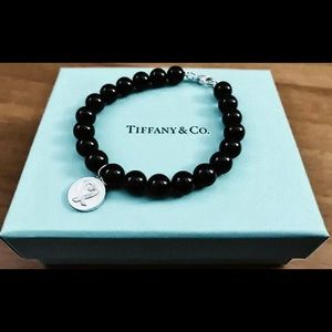 Tiffany & Co Loving Heart Onyx Bracelet - Picasso